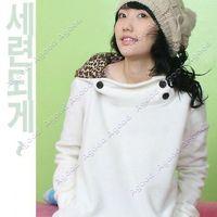 Women sweatshirt hoodies - Women Autumn Hoodies coat Leopard Hoodie Sweatshirt Top Outerwear Parka HK Post