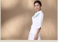 Wholesale Chinese dress coat improved daily hanfu ethnic Chinese wind restoring ancient ways of the republic of China women s clothing