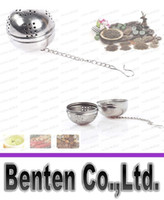 balls of steel - new dining room accessories stainless steel ball pot of tea flavor spices Cooking Tools LLFA3016F