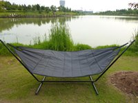 hammock stand - Outdoor Camping Hammock without stand nylon strong Hammock Outdoor Folding Camping Tent