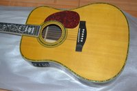 chinese acoustic guitars - NEW MODEL Chinese OEM LP J200 acoustic Guitar Solid spruce top maple back and sides of the tiger pattern Guitar