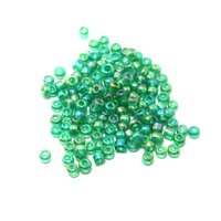 seed bead - Round mm g Green Glass Seed Beads DH BBG034 A