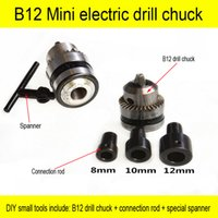 Wholesale Quality drill chuck mm B12 Applicable to motor shaft diameter mm for mini pcb drill dremel driver Press tool