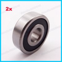 atv bearings - 2x Rubber Sealed Ball Bearing RS For Pit Dirt Bike Pocket ATV Quad Moped Scooter x30x9mm order lt no track