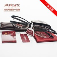 best reading glasses for men - chinese best reading glasses red sunset gold color half frame for men points to read
