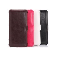 Wholesale Fresh Style PU Leather Flip Cover for Apple iPhone quot iPhone Plus quot with Stand Function Candy Color Full Protection Free DHL