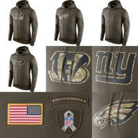 49ers - Bills Raiders Jets Giants Hoodie Fashion Eagles Bengals ers Dolphins Ravens Green Salute To Service Hoodies Sweatshirt