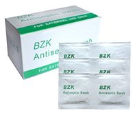 antiseptic swabs - 100pcs Medical BZK antiseptic swab sterile piece cleaning disinfection wet wipe outdoor travel alcohol pad towel first aid kit