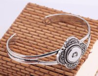 Cheap 10pcs lot Silver Plated alloy sun flower Metal Bracelets and bangles Fit Snaps Snap Buttons 18mm Free Shipping ginger snap jewelry