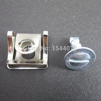 audi engine cover - 10Set Under Engine Cover Undertray Kit Screw Metal Clips Fit For Audi VW PASSAT D0805121