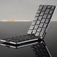 android windows keyboard - Wireless Keyboards For Tablets Bluetooth Portable Folding Mini keyboard Small Multi Color For Android IOS Windows System Smart Devices