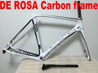 track bike frames - TOP SALE De Rosa D03 carbon road bikes Frameset for sale carbon track frame montain bike