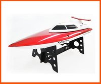 Wholesale New Channel G RC Remote Control High Speed Racing Boat FT007 Kids Gifts Red