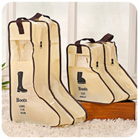 hand compression bag - 2015 Rushed New Storage Wedding Dress Box Korean Travel Bag Non woven Dust Boots Visible Hand Carrying Cover Portable Shoe g