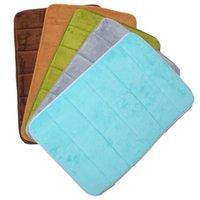 Wholesale Hot Selling Memory Foam Bathroom Mats Non slip Bath Mats Bath Carpet quot x24 quot