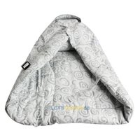 baby carrier infant insert - LS4G Infant Baby Carrier Inserts Pure Cotton Cushion Blanket Starry Sky Grey