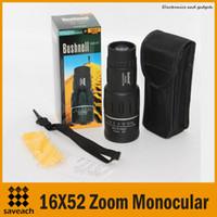 Cheap 16X52 Zoom Compact Sports Monocular Best Telescope Mono Spotting Scope