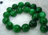 Wholesale Genuine Natural mm mm Green Round Emerald loose beads15 quot