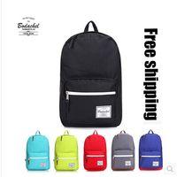 Wholesale herschel pop quiz backpack New Colors Luminous Minecraft Casaul Travel Bags Unisex Canvas Backpacks Kids School Bags