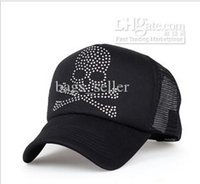 Wholesale Cheap Snapback Caps Mesh Man Women Skull Gun Style Summer White Black Color New Arrival C9