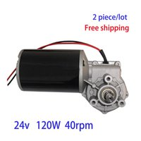 Wholesale 24 V W high power worm wheel DC geared motors