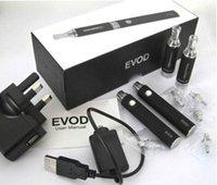 Wholesale Double Evod Starter Kits MT3 Evod Double Kits with mah mah mah DHL