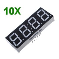 Wholesale Best Promotion Inch Seven Segment Digits Red Clock LED Display Common Anode Time Pins