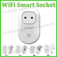 Wholesale Orvibo Wifi Power Socket Smart Socket Timer Switch Wall Plug Wireless Control Smart Home Automation Appliance EU AU US UK Plug
