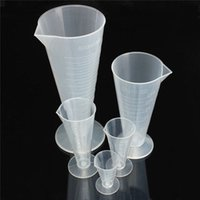 Wholesale New Arrival Kitchen Laboratory Lab Plastic Graduated Volumetric Container Measuring Tool order lt no track