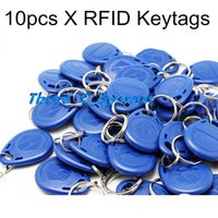 Wholesale 10pcs Khz RFID Proximity ID keychains Keyfobs Car Parking Access Control System Key tags RF key chains