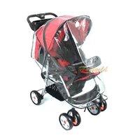 Wholesale Infant Baby Care Stroller Pushchair Waterproof PVC Baby Rain UV Wind Cover Hood