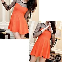 amazon swings - Amazon Europe and foreign trade explosion models sexy fashion wave point perspective big swing minidress child nightclubs wind