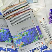 Wholesale Marco Colors Art Drawing Oil Base Non toxic Pencils Set For Artist Sketch color pencil poster paint colouring pencils