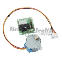 Wholesale New arrival V Stepper Motor BYJ With Drive Test Module Board ULN2003 Line Phase