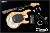 ash wood finish - DIY The electric bass semi finished products The piano body ash wood Canadian maple neck MX999