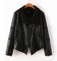 Cheap 2014 winter new female European and American fur jacket lapel short thick hooded coat fur machine wagon