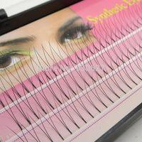 eyelash extension kit - Flare Knot Free Natural Long Black Individual Eyelash Extension Synthetic Eye Lash Extension Kit mm mm mm