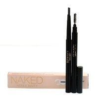 naked 2 - New brand NAKED HERES B2UTY IN Waterproof Eyebrow Pencil Coffee Brown Dark grey EUB USPS GIFT