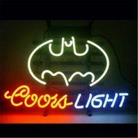 batman store - COORS LIGHT BATMAN HANDICRAFT NEON SIGN REAL GLASS TUBE LIGHT BEER BAR PUB STORE x11 quot
