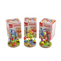 2 Years baby development games - Baby Intellectual Development toy Educational Toys Wooden String Of Beads Mini Game Props Early Learning Toys