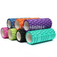 Wholesale 7 Color x14cm EVA Yoga Gym Pilates Fitness Exercise Foam Roller Massage Training Trigger Point