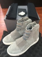 shoes box design - 2015 New Limited Release Yeezy Boots For Men Fashion Design Basketball Shoes Hot Sales Sport Shoes With Original Box Size