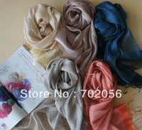 Wholesale COTTON SILK Scarf Wraps shawls Scarves Ponchos Shawl Stole Neckerchief Sarongs headband cm