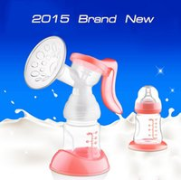 BPA Free breast pump - 2015 New manual breast pump manual breast pump new original ML PP material bottle does not contain bisphenol A Healthy non