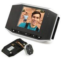 Wholesale 3 LCD Digital Video Door Viewer eye Doorbell Camera Peephole Degree Door Eye Doorbell Video Camera Auto Motion Detection