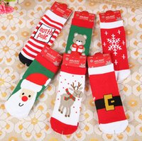 no brand animal christmas stockings - 2016 Christmas stockings socks kids animal socks Middle Tube cotton skateboard socks printed Unisex socks Christmas gift TW28