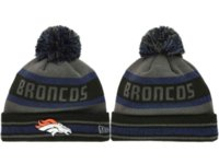 Cheap Broncos Beanie Hats Football Skullcaps Unisex Kitted Hats 2014 Latest Caps Sports Team Beanies Autumn Beanie Caps Winter Headwear Mix Order