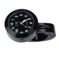 Wholesale Sanwony Hot Sales Popular Motorcycle Accessory Handlebar Mount Clock Watch Waterproof Freeshipping