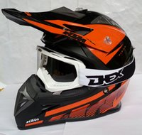 motocross gear - New Arrival DOT Motorcycle Off Road Capacete KTM Motocross Helmet Motor Casco Protective Gear Matched CE MX Goggles