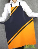 apron beauty - FBH071985 Japanese style hotel uniforms beauty salon wear sleeveless aprons fashion simple and elegant